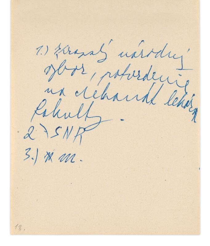 Eugen Nevan - Skicár - 14 listov
