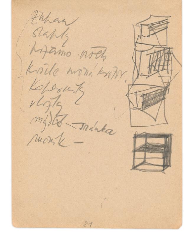 Eugen Nevan - Skicár II - 49 listov - Nákupný zoznam