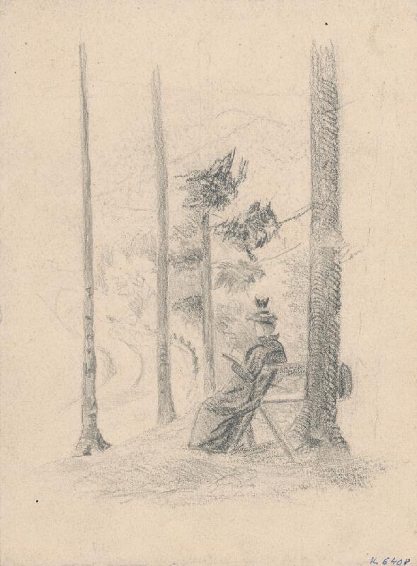 Jan Novopacký – Drawing Man II.