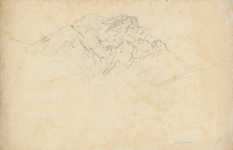 Jan Novopacký - Štúdia skalnatého kopca