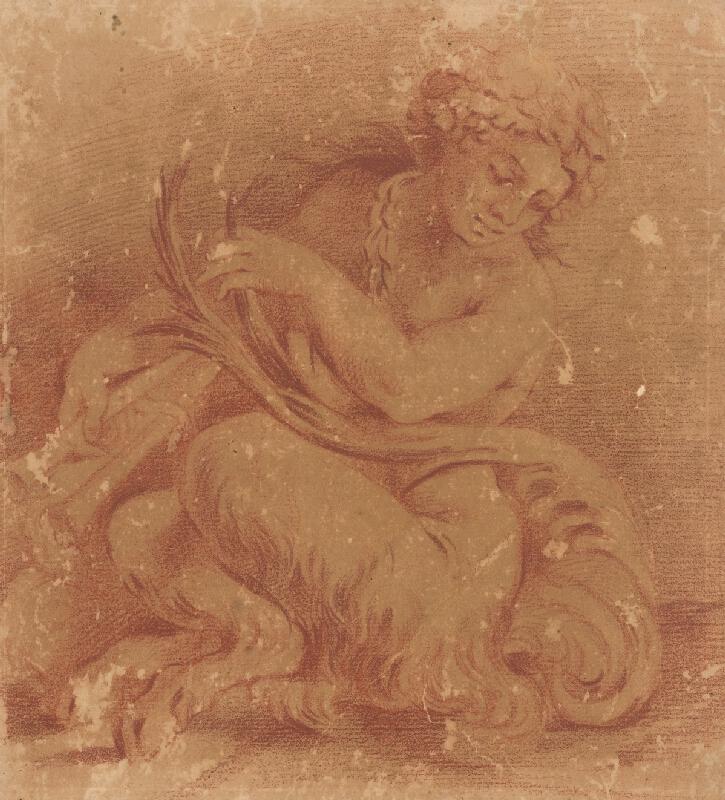 Taliansky maliar z 18. storočia - Faun