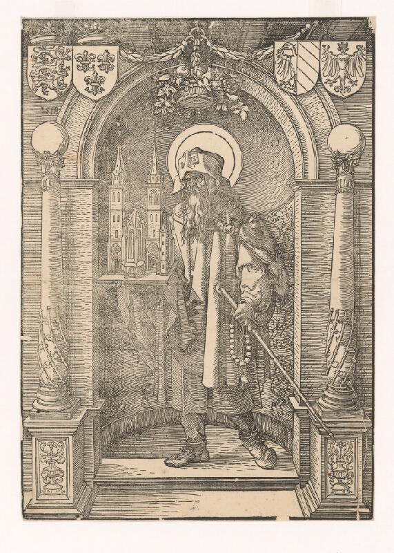Albrecht Dürer, Neznámy umelec (okruh Albrechta Dürera) - Svätý Sebald ako patrón kostola