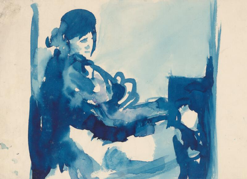 Jozef Šturdík - Dáma v modrom