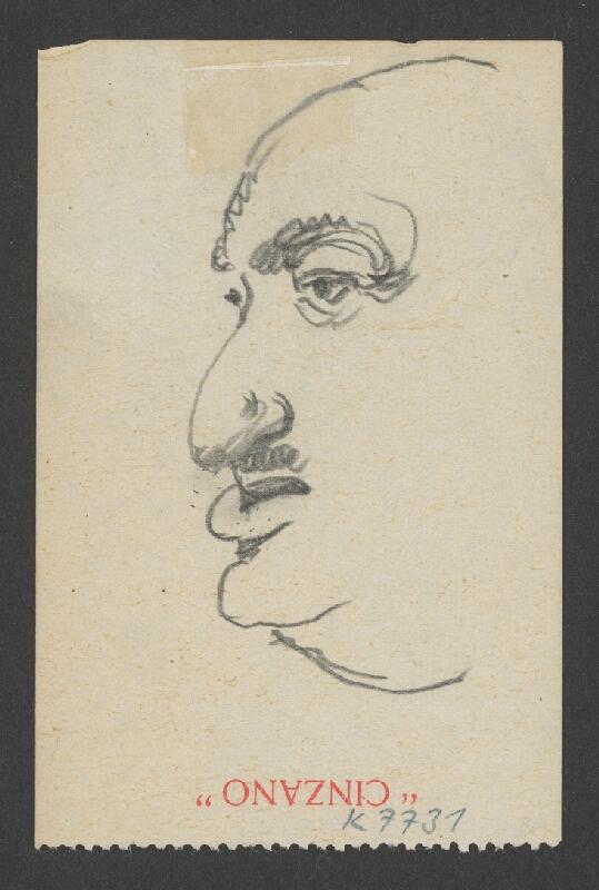 Ivan Žabota - Mladá žena en face 3.