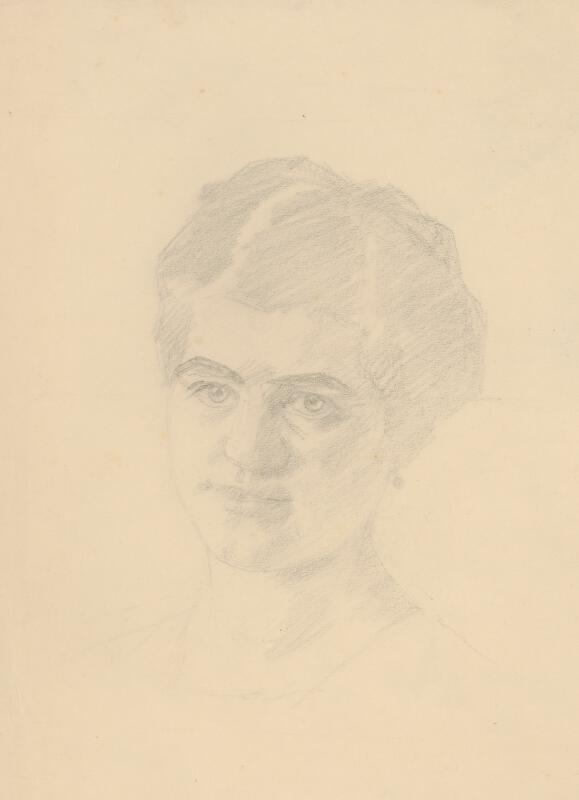 Ivan Žabota - Hlava ženy s naušnicami