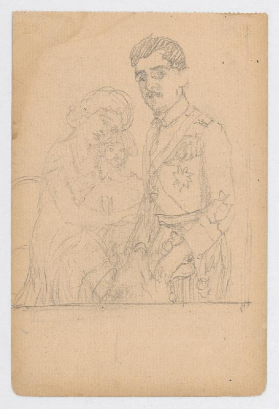 Ivan Žabota - Kráľ Alexander s rodinou 1.