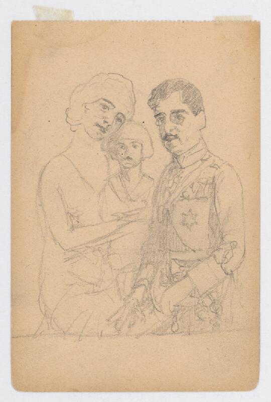 Ivan Žabota - Kráľ Alexander s rodinou 3.