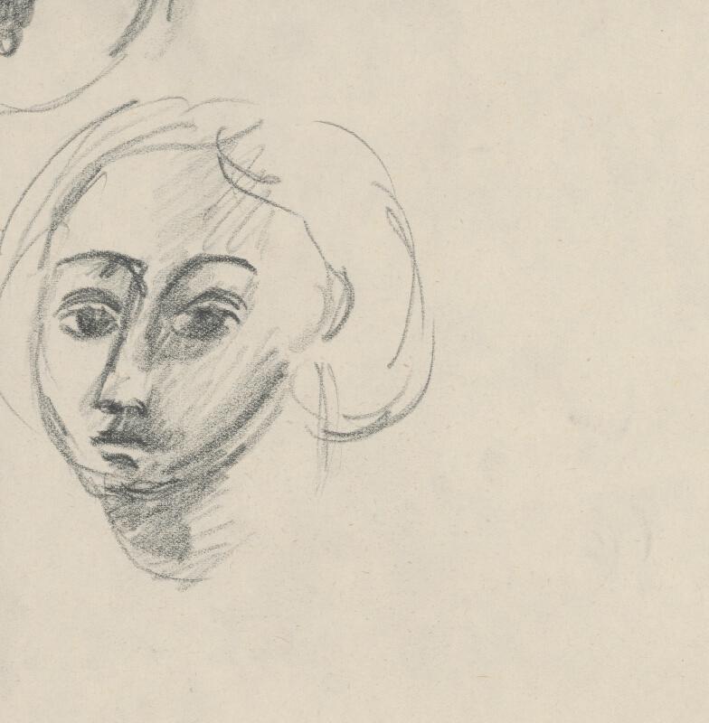 Eugen Nevan - Hlava ženy s náhrdelníkom