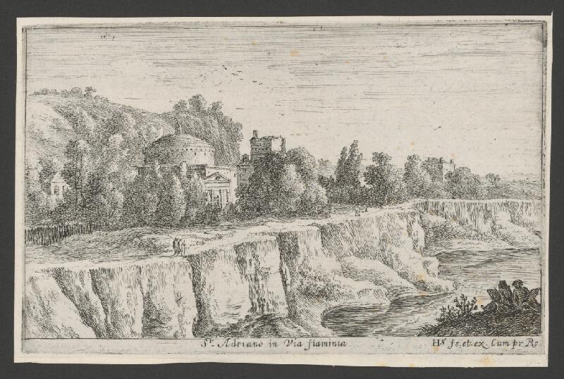 Herman van Swanevelt - St.Adrians in Via Flaminia