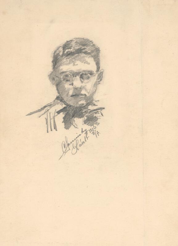 Ladislav Čemický - Chlapec v okuliaroch