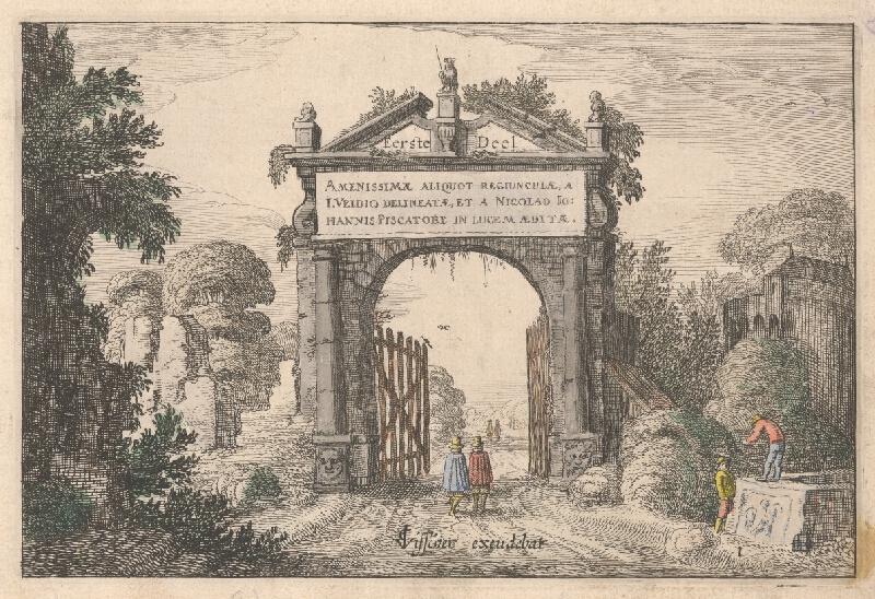 Jan van de Velde ml., Claes Jansz. Visscher - List z albumu