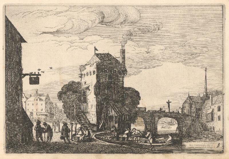 Jan van de Velde ml., Claes Jansz.  Visscher - 8.list z albumu