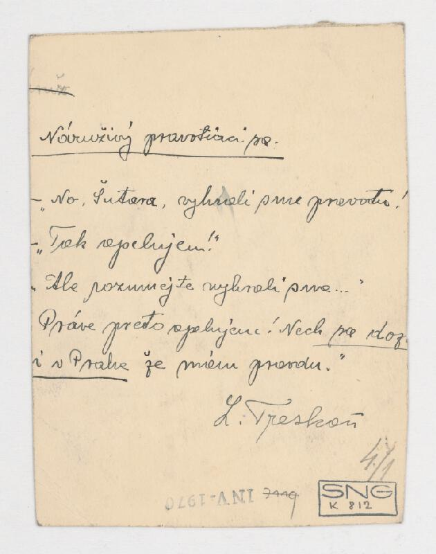 Ladislav Treskoň – Pravotár s klientom
