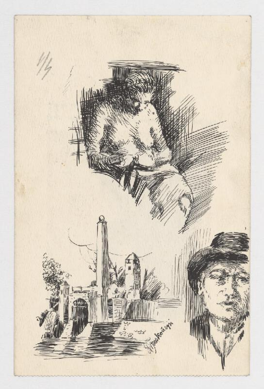 Ladislav Treskoň - Podobizeň podľa Rembrandta