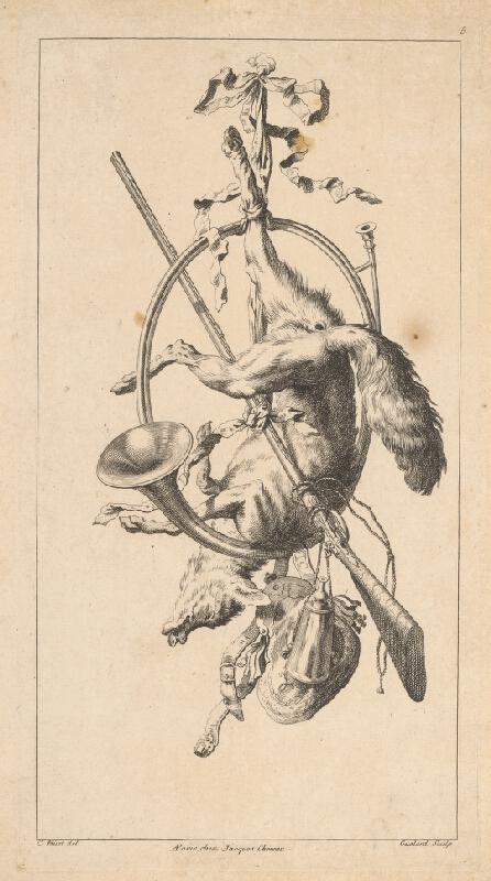Christophe Hüet, Jean-Baptiste-Antoine Guélard - Lovecké zátišie