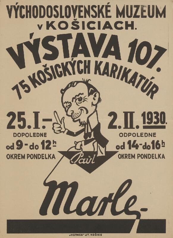 Neznámy autor - Výstava košických karikatúr