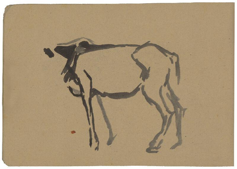 Margita Czóbelová – Náčrt koňa