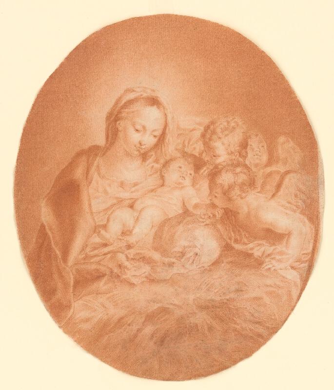 Carlo Maratta - Madona s dieťaťom
