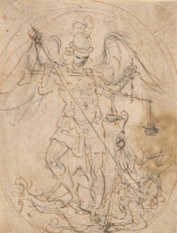 Taliansky majster zo 17. storočia - Svätý Michal
