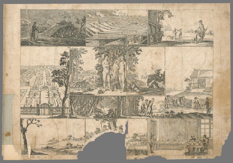 Johann Friedrich Schleuen, Gottfried Chodowiecki - Vyhnanie z raja
