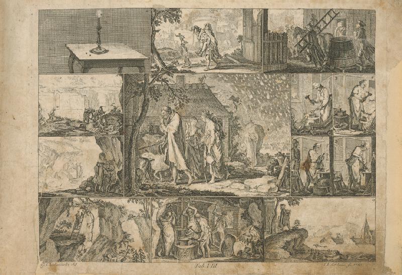 Johann Friedrich Schleuen, Gottfried Chodowiecki - Sodoma a Gomora