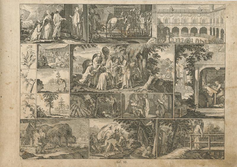 Johann Conrad Krüger, Gottfried Chodowiecki - Jakuba predali kupcom