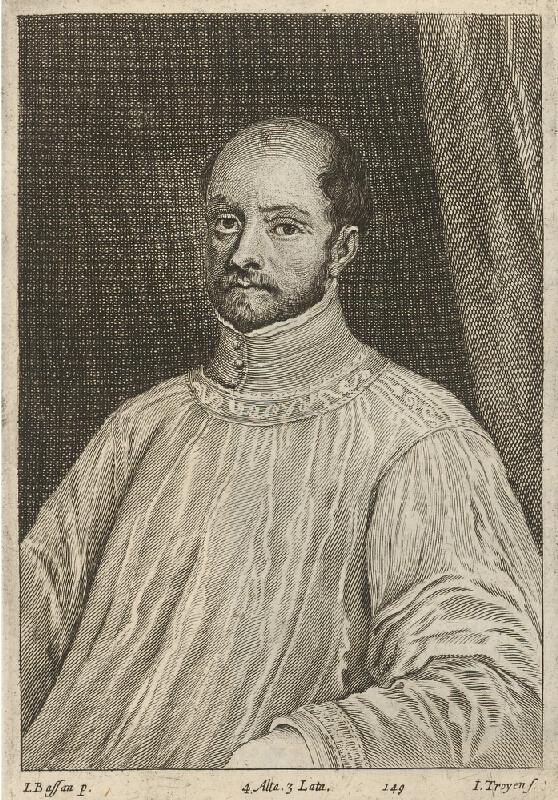 Jacopo Bassano, Jan van Troyen, David Teniers ml. - Portrét neznámeho šľachtica