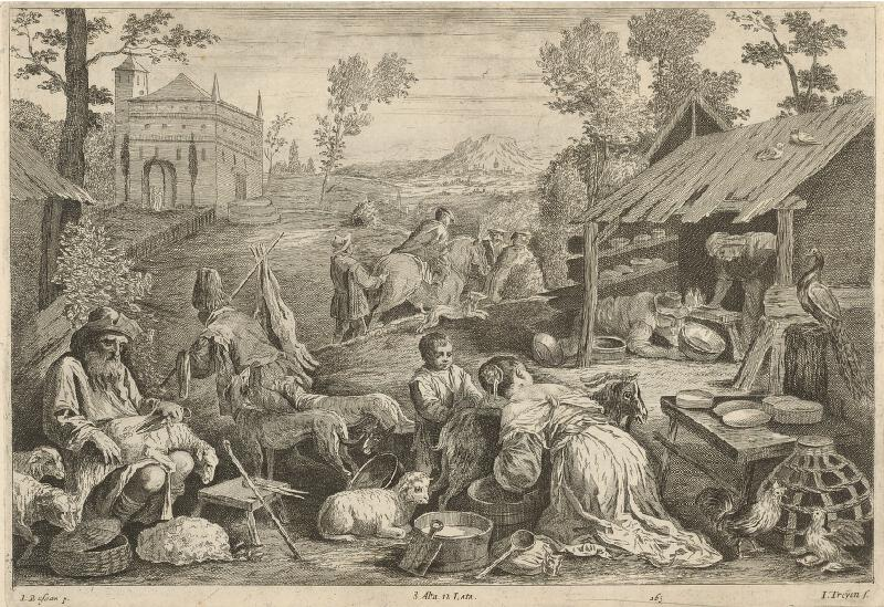 Jacopo Bassano, Jan van Troyen, David Teniers ml. - Jar - štyri ročné obdobia