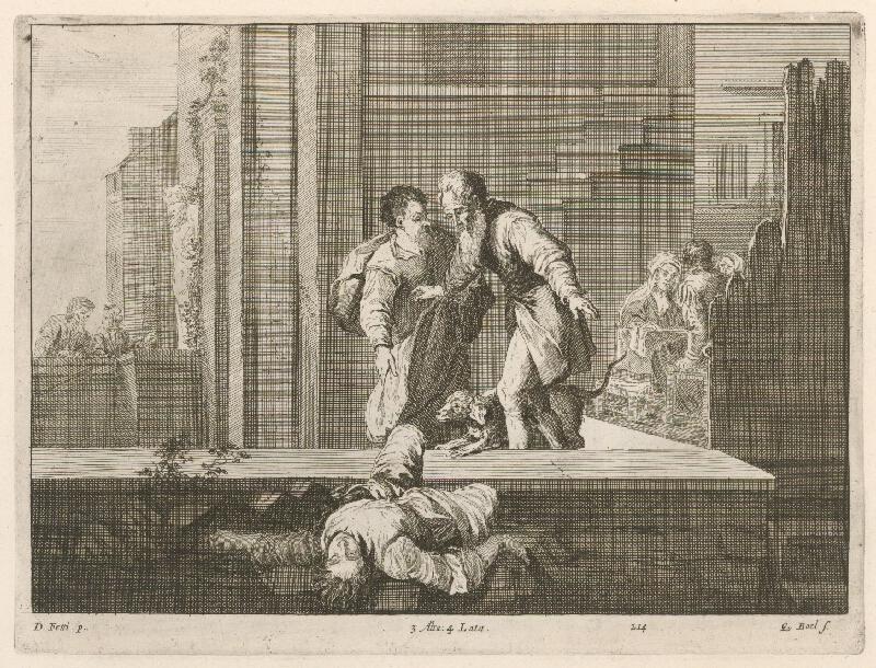 Domenico Fetti, Quirin  Boel, David  Teniers ml. - Náboženská scéna