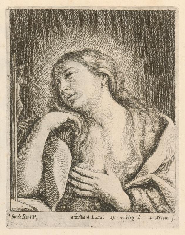 Guido Reni, David  Teniers ml. - Mária Magdaléna