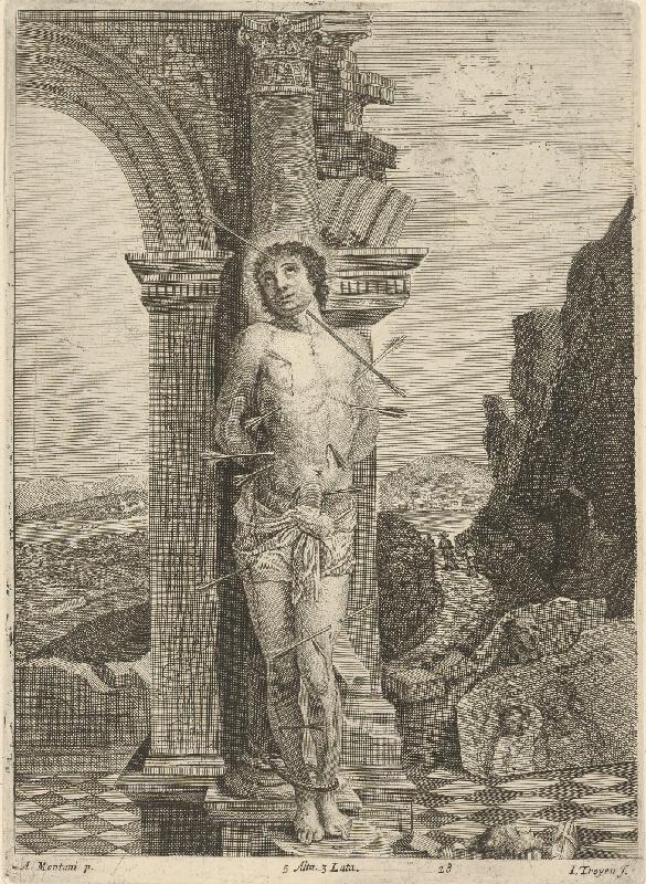 Jan van Troyen, David Teniers ml. - Svätý Sebastián