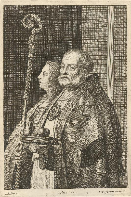 Lucas Vorsterman, Giovanni Bellini, David Teniers ml. - Sv. Mikuláš