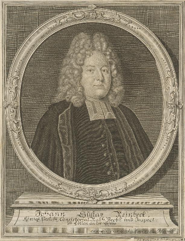 Johann Georg Wolfgang - Podobizeň J.G.Reinbecka