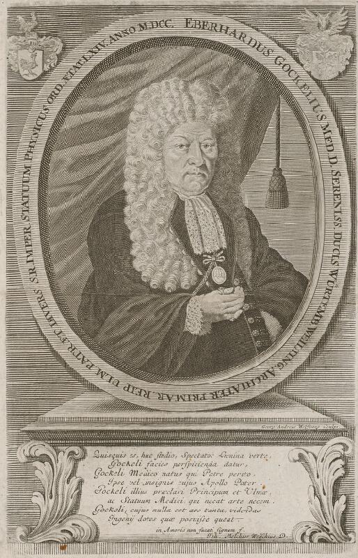 Johann Georg Wolfgang - Podobizeň Eberharda Gockeliusa