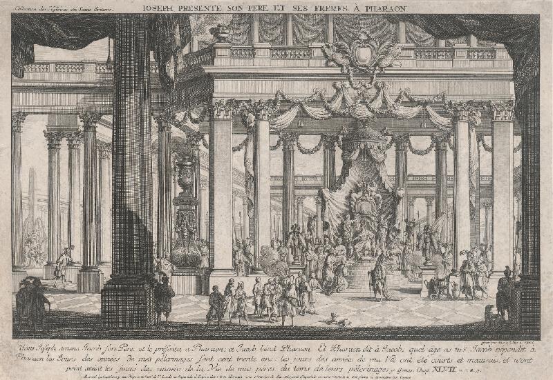 *, Carl Schütz - Jozef predstavuje svojho otca faraónovi