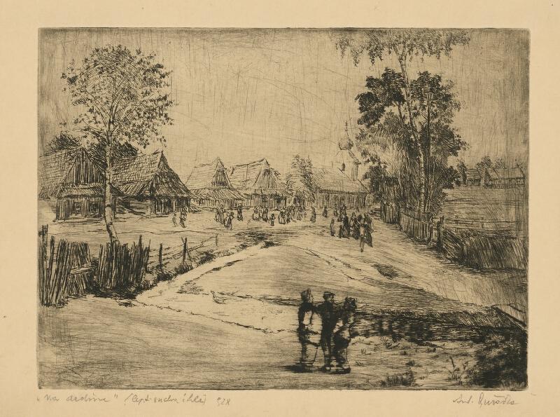 Anton Djuračka - Na dedine