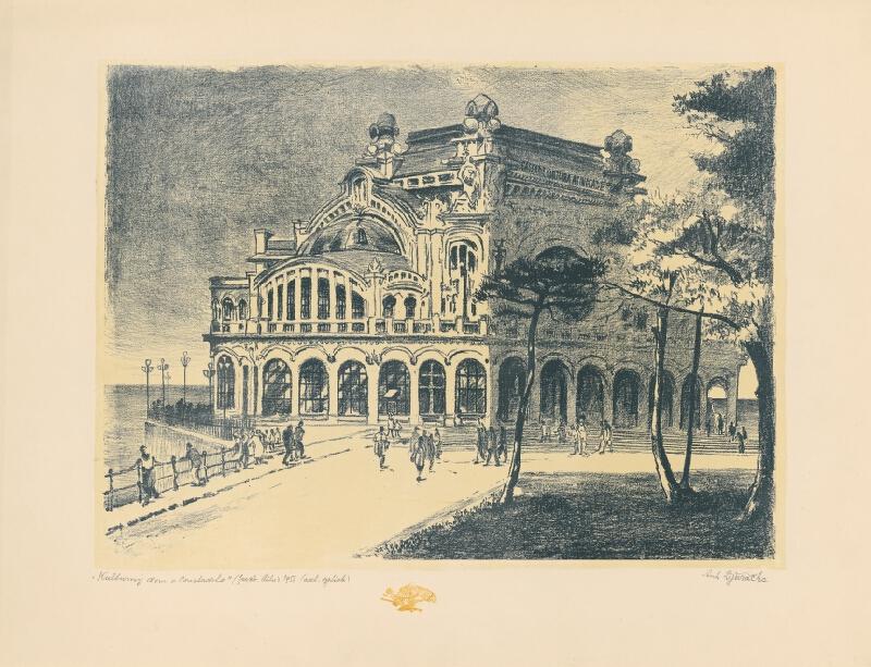 Anton Djuračka - Kultúrny dom v Constante