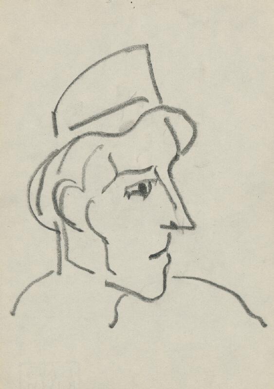 Miloš Alexander Bazovský - Muž s klobúkom