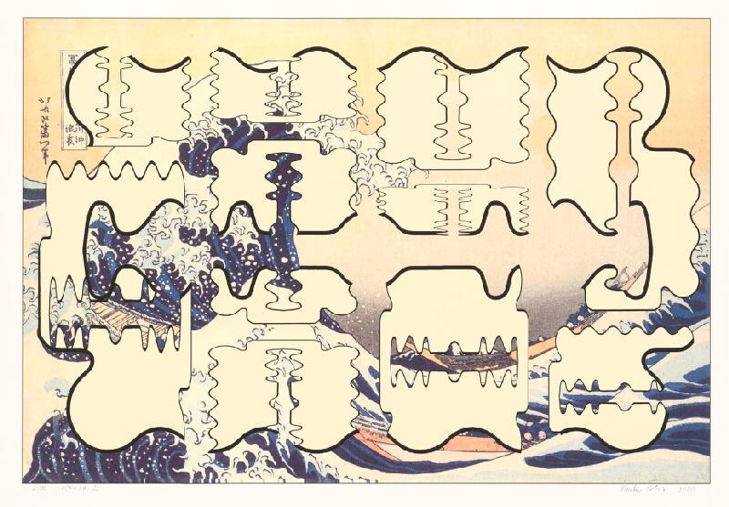 Marko Blažo – Hokusai 2, 2010, Slovenská národná galéria