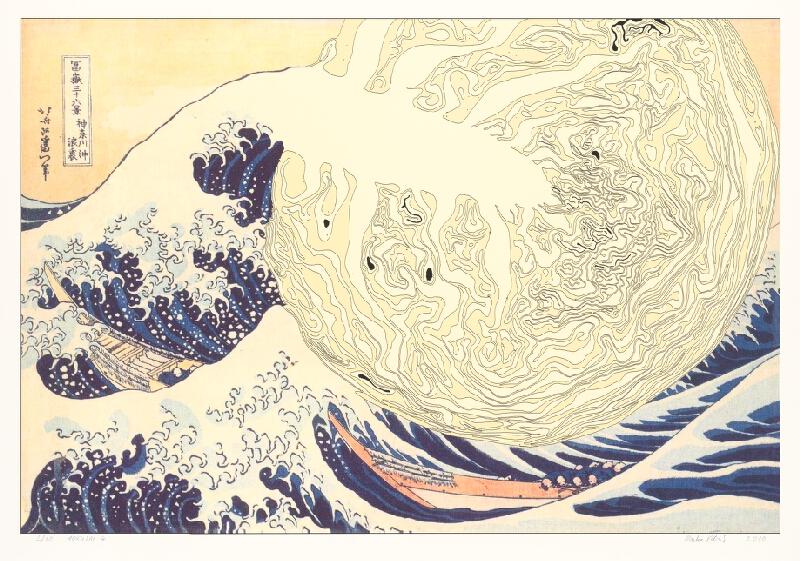 Marko Blažo – Hokusai 4, 2010, Slovenská národná galéria