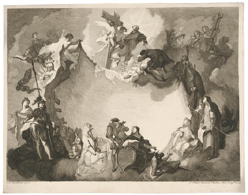 Franz Anton Maulbertsch - Svätí patróni tretieho rádu