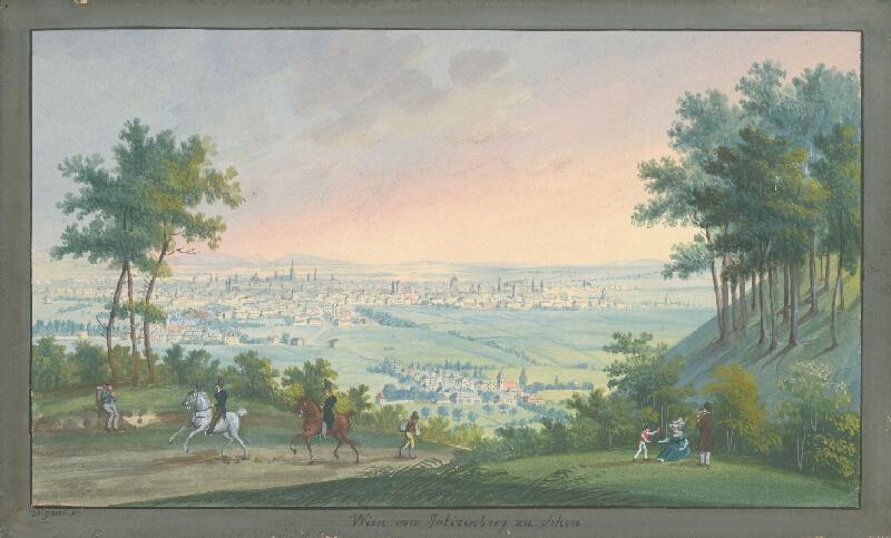 Balthasar Wigand - Pohľad na Viedeň
