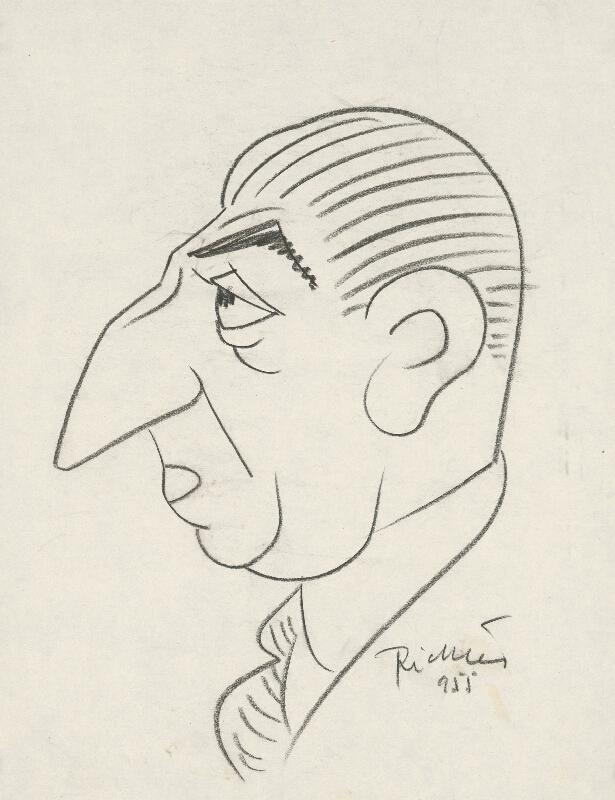 Alexander Richter - Karikatúra Pelca