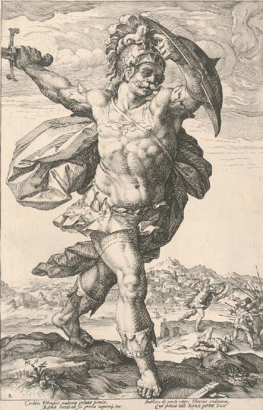 Hendrick Goltzius - Horatius Cocles (2)