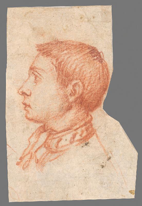 Stredoeurópsky maliar z 19. storočia - Hlava chlapca