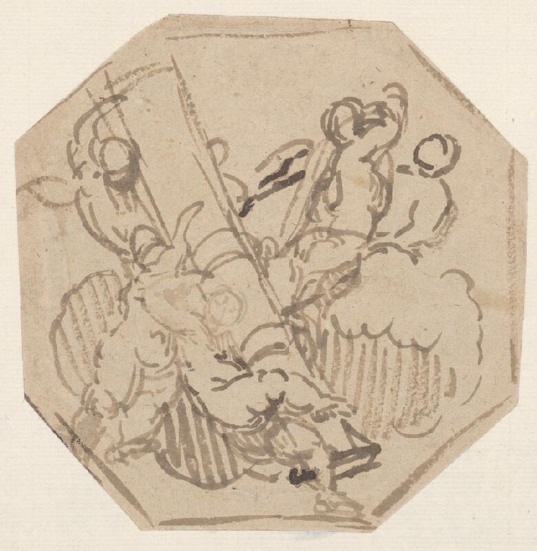 Stredoeurópsky maliar z 18. storočia - Skupina anjelikov II.