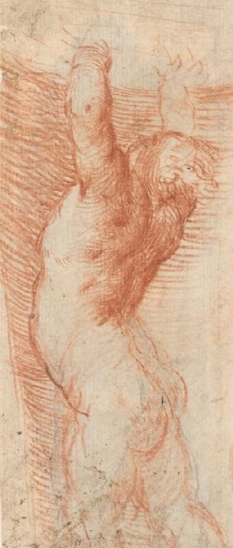 Stredoeurópsky maliar z 18. storočia – Study of Nude from the Back
