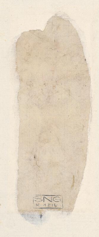 Stredoeurópsky maliar z 18. storočia - Study of Nude from the Back