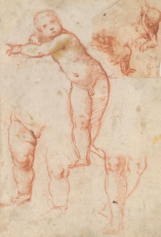 Stredoeurópsky maliar z 18. storočia - Štúdia chlapčenského aktu
