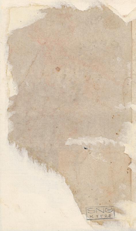 Stredoeurópsky maliar z 18. storočia - Štúdia stojaceho chlapčenského aktu
